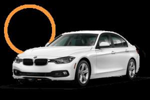 Used White BMW